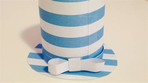 create  cute paper top hat diy crafts tutorial