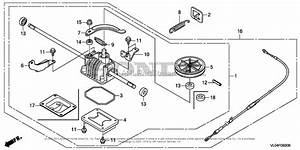 Honda Hrr216k5 Vxaa Lawn Mower  Usa  Vin  Mzcg