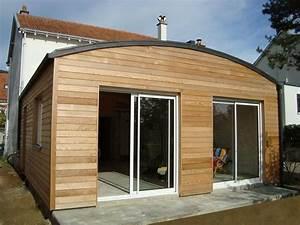 Cout Agrandissement Maison : agrandissement bois maison commerce jardin cl ture ~ Premium-room.com Idées de Décoration
