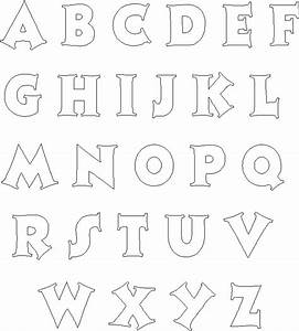 alphabet letter templates peerpex With picture alphabet letters free
