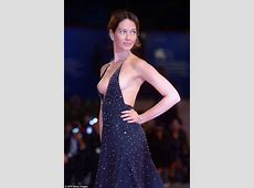 Cristiana Capotondi suffers nip slip at Venice Film Fest