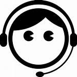 Service Customer Icon Svg Itsm Glasses Care