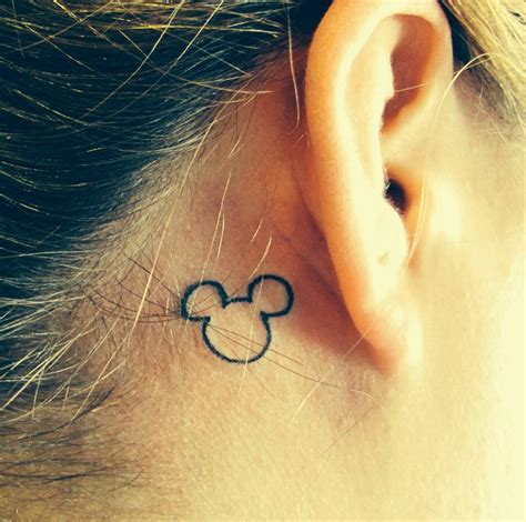 hidden mickey tattoo disney ink pinterest disney