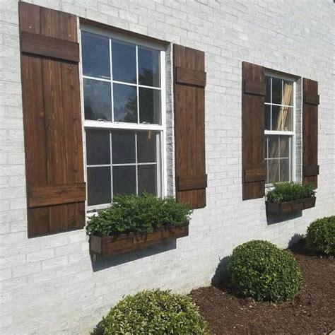 b d shutters best 25 exterior wood shutters ideas on diy