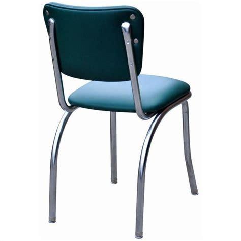 richardson seating retro 1950s chrome diner dining chair
