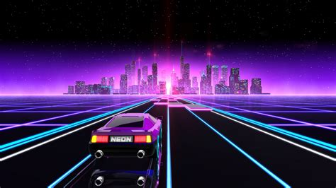 Neon Drive Coming to PS4 on August 8th