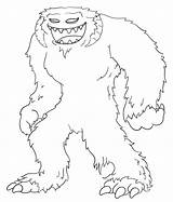 Yeti Coloring Wampa Pages Draw Wars Star Drawing Cartoon Simple Drawings Colouring Template Hoth Sketch Cartoons Planet 22kb 632px sketch template