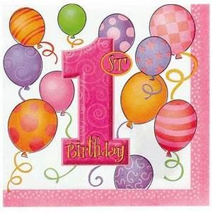 1 An Anniversaire : 16 serviettes anniversaire 1 an fille pour l 39 anniversaire de votre enfant annikids ~ Farleysfitness.com Idées de Décoration