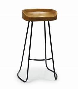 Tabouret De Bar Noir : tabourets de bar ~ Melissatoandfro.com Idées de Décoration