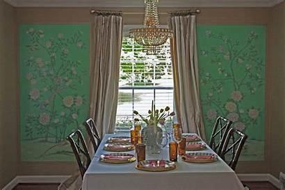 Dining Panels Framed Horchata Jessieleigh Chinoiserie