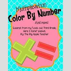 78+ Images About Multiplication On Pinterest  Facts, Student And Math