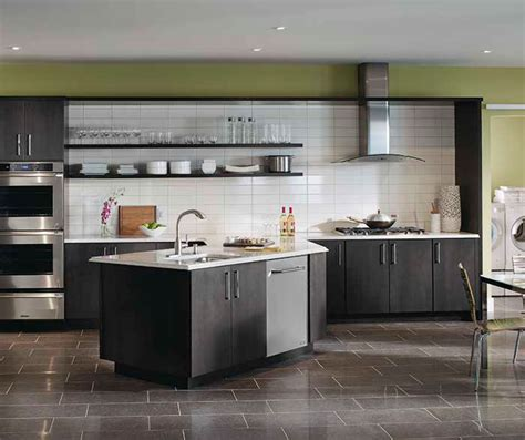 gray wood kitchen cabinets dark gray kitchen cabinets kemper cabinetry