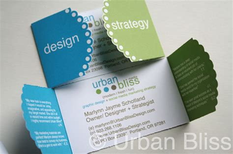 awesome die cut business card examples web graphic