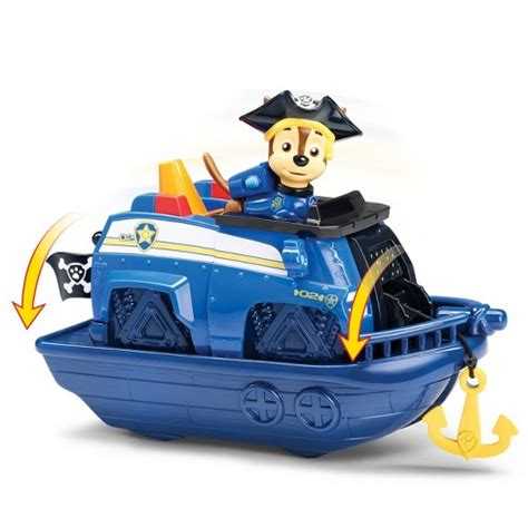 Paw Patrol Boat by Paw Patrol Pirate Pups Pirate Vehicles With And