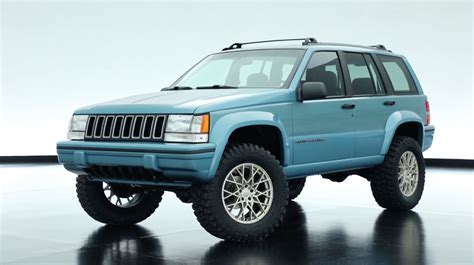 Jeep's Best New Concept Vehicle Is The 1993 Grand Cherokee