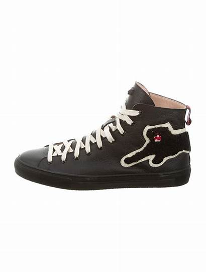 Panther Gucci Sneakers Shoes Embroidered Therealreal