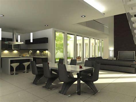 23 Sleek Contemporary Dining Room Designs