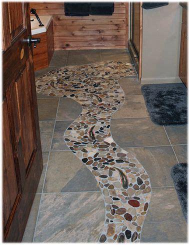 design concept idea   rustic cabin bathroom stone tile