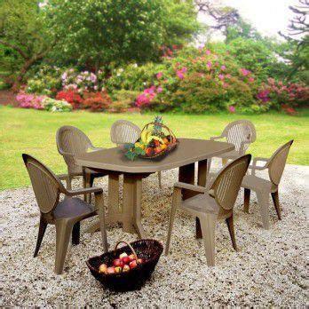 Salon de jardin ru00e9sine grosfillex 6 couverts tau2026 - Achat / Vente salon de jardin salon de jardin ...