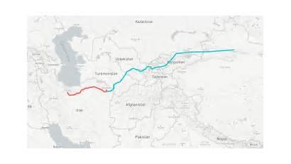 Silk Road China Iran Project Team Belt