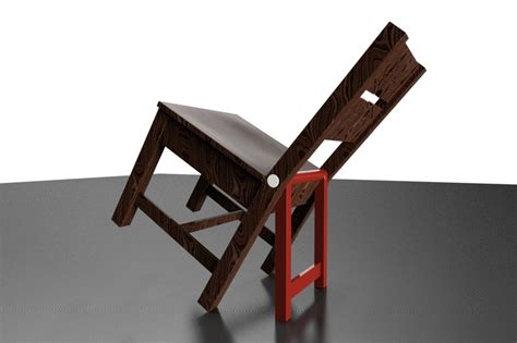go ahead lean back it s safe solidworks 3d cad model