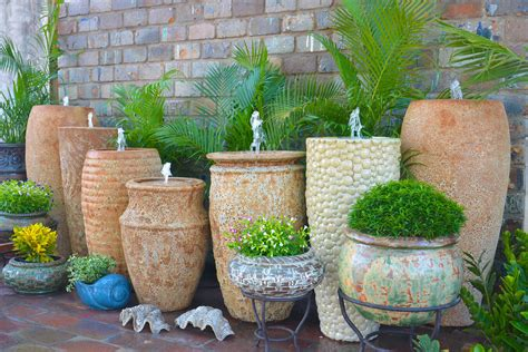 wholesale garden pottery large pots outdoor