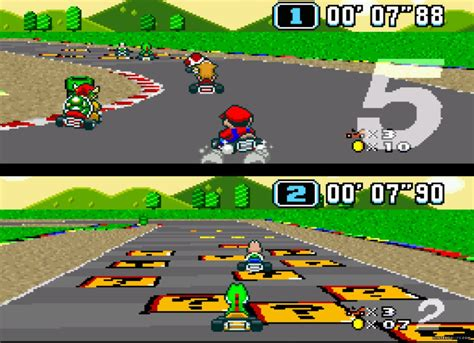 Super Mario Kart Snes World Championships Race Onto The