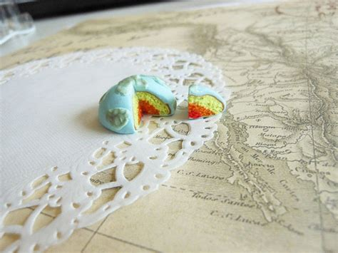 miniature layers   earth cake  clay cake art