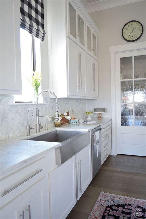 white marble kitchen backsplash ideas youll love