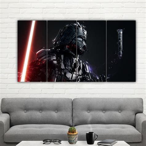 Star wars movie poster stock photos and images. Darth Vader Framed Poster Print Canvas Art