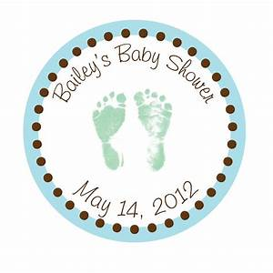 personalized stickers baby feet baby shower by simplysweetness With how to make personalized stickers