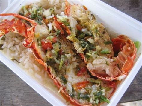 cuisine guadeloupe guadeloupe langoustes guadeloupe lobster food lobsters and food