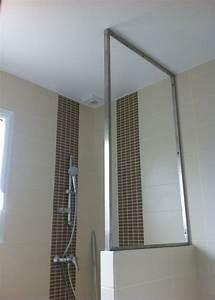 Vitre Douche Italienne : douche italienne mur ou vitre mobilier d coration ~ Premium-room.com Idées de Décoration