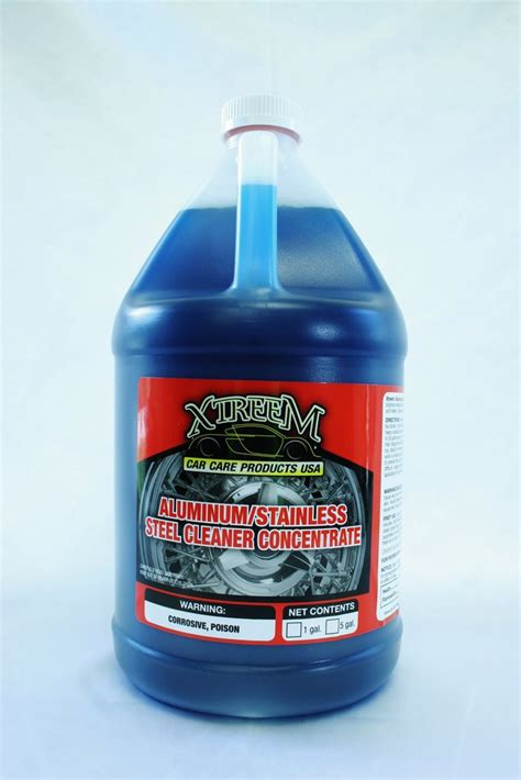 aluminumstainless steel cleaner concentrate xtreemcarcarecom