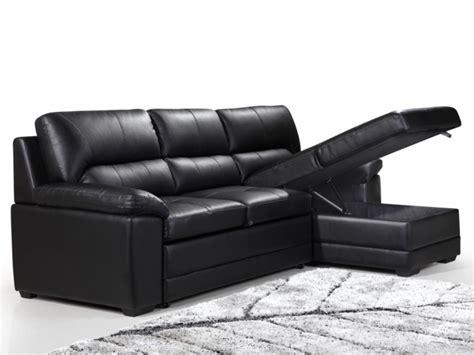 canapé d angle convertible cuir noir photos canapé d 39 angle cuir noir convertible