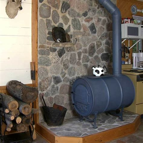 vogelzang deluxe airtight barrel wood stove kit cabin