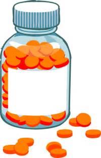 Pill Bottle Clip Art