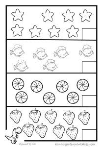 counting worksheets    printable workbook