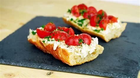 recette bruschetta  la tomate recette az