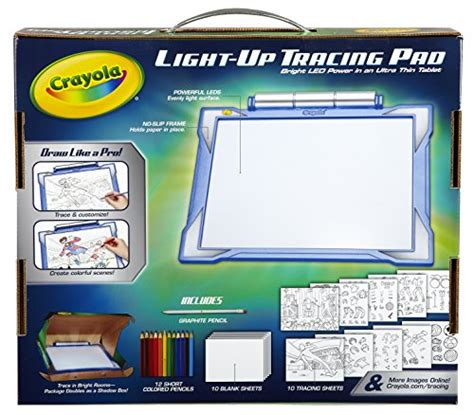 light board for kids crayola light up tracing pad blue coloring board for