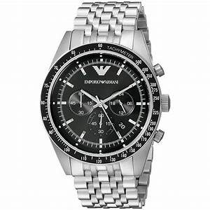 emporio armani ar5988 chronograph tachymeter gliederarmband