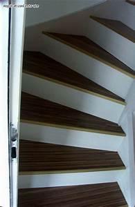 Rénovation Escalier Par Recouvrement : escalier parquet flottant gp89 jornalagora ~ Dailycaller-alerts.com Idées de Décoration