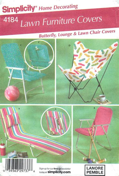 simplicity home decorating 4184 lawn furniture covers