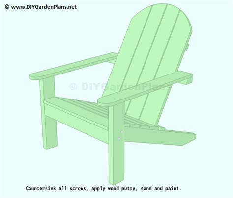 easy to follow plans for an adirondack chair