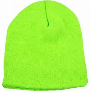 Lime Green Beanie