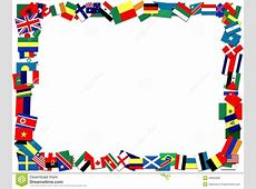 Flag Border printable flags