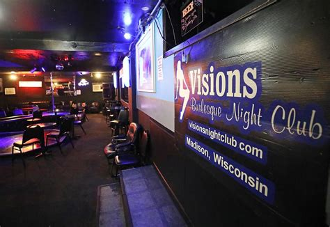 Madison strip club Visions clears major hurdle for liquor ...