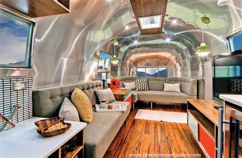 stylish  gorgeous airstream interior design ideas