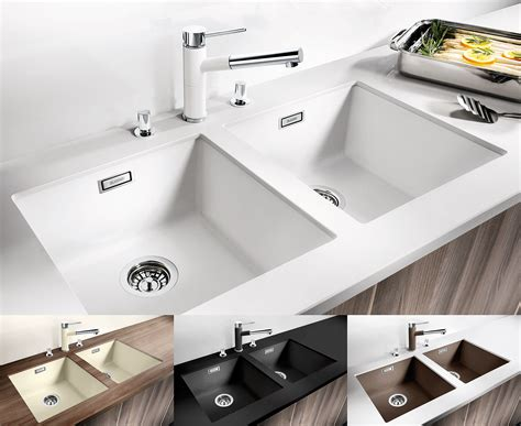 brighten   life   coloured sink blanco