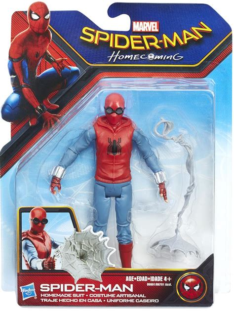 Spider-Man: Homecoming: Web City Action Figure: Home Made ...